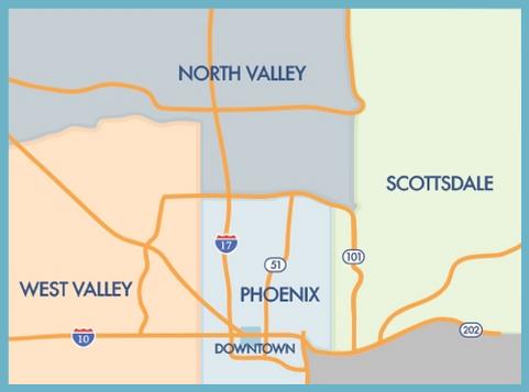 phoenix west valley map Find A Teacher Phoenix Music Teachers Association phoenix west valley map
